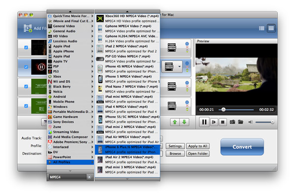How to Convert Video to AMV Mac