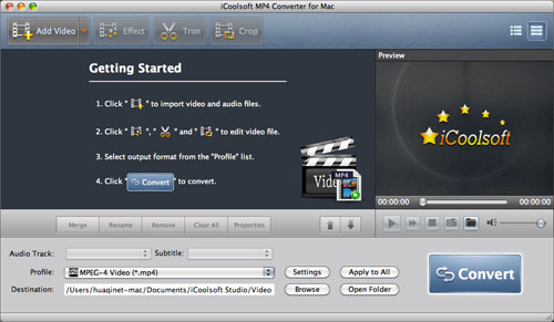 convertire mp4 in avi per mac
