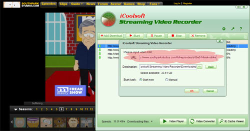 how to make video streaming web server