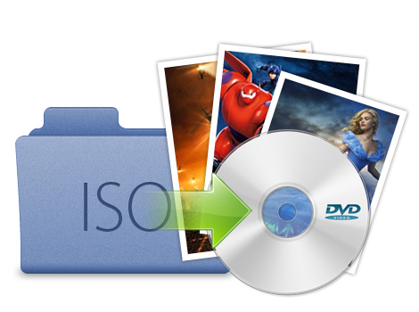 Burn DVD folder/ISO to disc