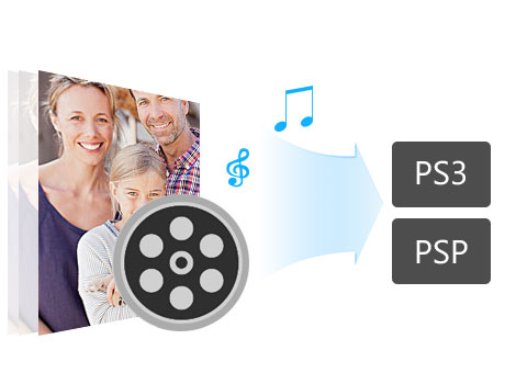 Convert video/audio to PS3/PSP