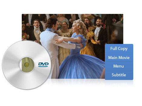 Rich DVD Copy modes