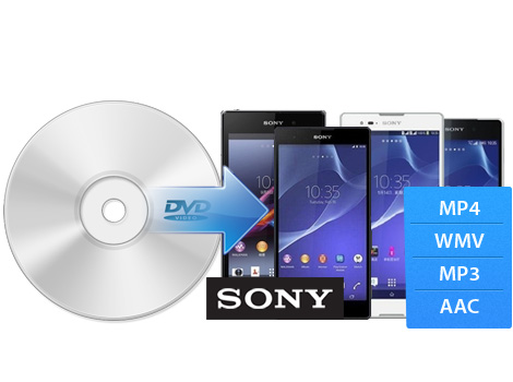 Rip DVD to various Sony video formats