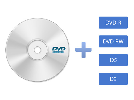 Compatible with various DVD types