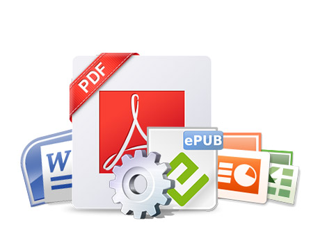 Convert PDF to text and image files