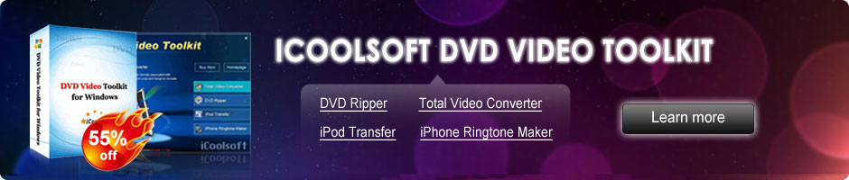icoolsoft dvd video toolkit