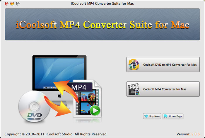 iCoolsoft MP4 Converter Suite for Mac 5.0.6 full